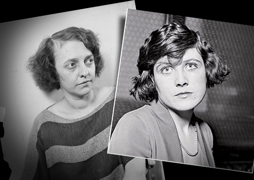 The real murderesses that inspired the story—Belva Gaertner, right, and Beulah Annan, left.