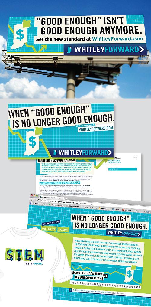 WhitleyForward communication pieces