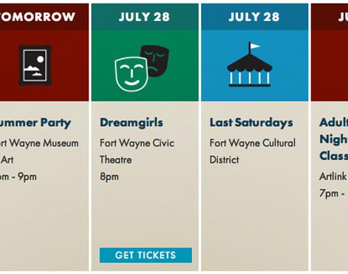 fort wayne in events calendar