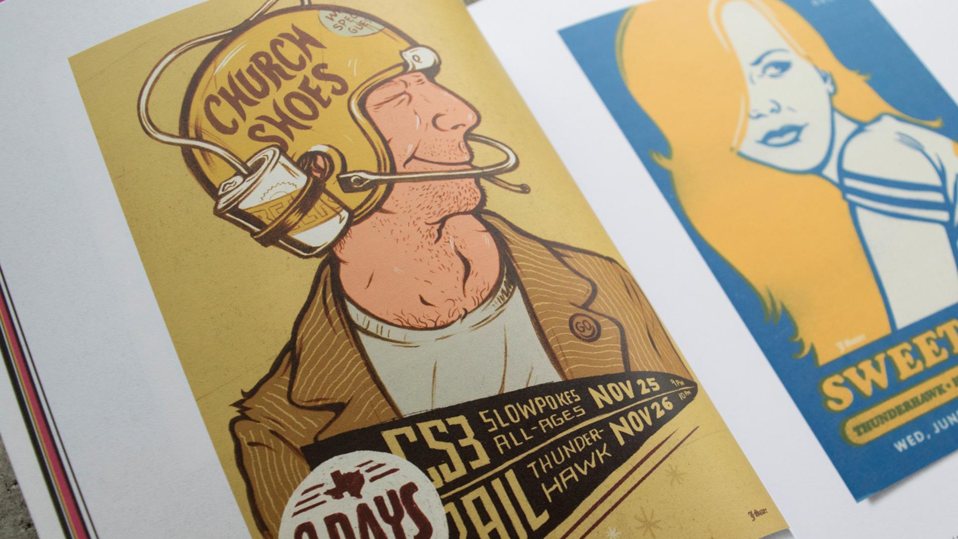 Jake Sauer Poster Design